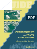 Amenagement Ponts