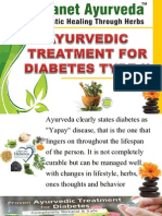 Ayurvedic Treatment for Diabetes Type 2