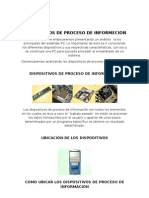Dispositivos de Proceso de Informecion