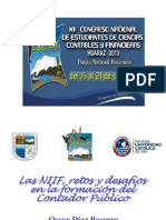 Conferencia Dr. Oscar Diaz