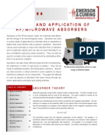 Theory and Application of RF&Microwave Absorbers