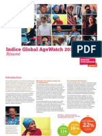 Global AgeWatch Index 2013