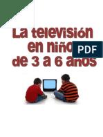 La televisión en niños de Ed Infantil