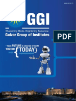Gulzar Group of Institutes - Broucher