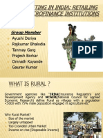 Rural Marketing in India- Final
