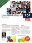 Global Agewatch Index 2013