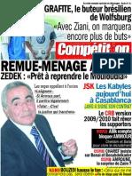 Compétition du 9 juillet 2009