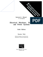 Electrical Machines, Drives, And Power Systems 6ed- Theodore Wildi - Solucionario.pdf