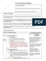 lesson plan literacy group combined with reflections