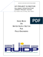 Hand Book - Water Supply Sector R2