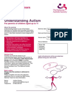 Understanding Autism - October 2013 - flintshire