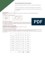 Medidas de Dispersion Para Datos Agrupados y Taller