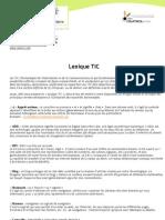 Lexique TIC 2