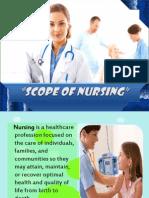 Scope of Nursing