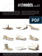 Archmodels Vol 22 (Garden Furniture)