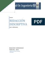 RyE Redaccion Descriptiva Lapiz