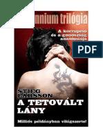 Stieg Larsson - Millennium Trilogia I