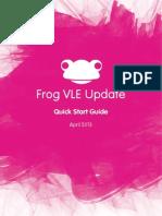Frog Software Update April 2013