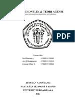 Analisis Konflik & Teori Agensi.doc