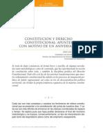 Constitucion y Derecho