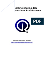 Electrical Engineering Interview Questions Answers Guide