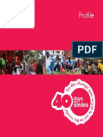 40 Days…Over 40 Smiles Foundation Profile