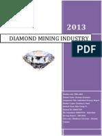 Environmental Analysis of Diamond Mining Industry