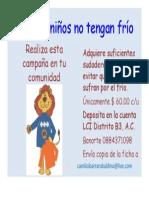 QUE LOS NIÑOS NO TENGAN FRIO.pptx