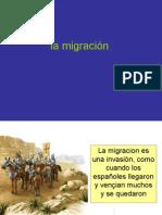 migración en VES