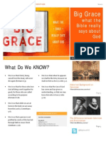 Big Grace Session 2 Summary