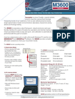 M3600 Viscometer Brochure 0913