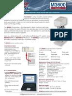 M3600 Viscometer Brochure 0913