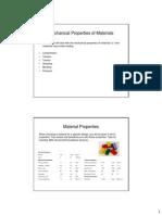 Mechanical Properties Part 1