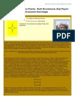 Uranian-Institute.org-The Value of Sensitive Points Ruth Brummund Dipl Psych Hamburger Schule Uranische Astrologie