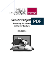 Senior Project Manual 2013-2014