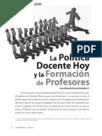 01043054 Huidibro_2011_Politica Docente y Formacion de Profesores