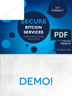 Secure Bitcoin Services