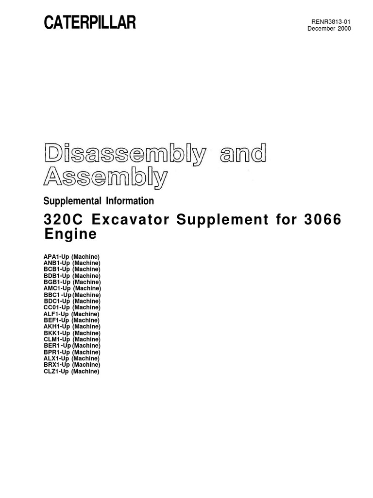 engine 3066 - disassembly and assembly(supplemental information) |  turbocharger | pump