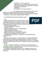 Ordonanta de Urgenta Nr15-2005