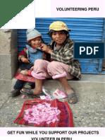Free Brochure Volunteering-Peru