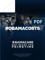 ObamaCare Not Ready for Primetime