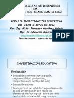 Modulo de Investigacion Educativa s