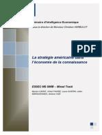 La Strategie Americaine Dans l Economie de La Connaissance (1)
