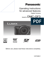 Camera Manual for Panasonic GF3