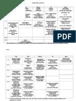 Orar Psihologie 2013-2014 Sem1 - LICENTA