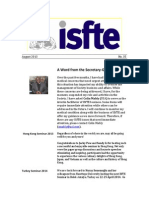 ISTE Newsletter 35 August