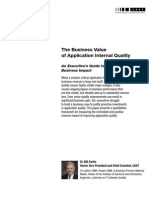 The Business Value of Application Internal Quality - Web Version