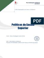 Politicas Do Ensino Superior