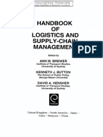 K.J. Button, D.A. Hensher Handbook of Logistics and Supply-Chain Management  2001
