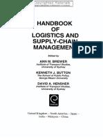 K.J. Button, D.A. Hensher Handbook of Logistics and Supply-Chain Management  2001